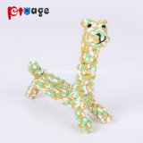 Masticar León cachorro de perro de juguete de cuerda de algodón juguetes mascotas