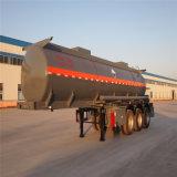 Transport-Tanker-halb Schlussteil 2018 des Schwungrad-Fabrik-Natriumhydroxid-/NaOH