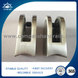 El SGS del Ce certificó la abrazadera de cristal del pasamano del acero inoxidable para la barandilla y las barandillas al aire libre