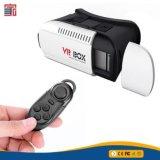 Cartone di realtà virtuale di Vrbox di vetro 3D della casella 2.0 di Vr con il periferico di Bluetooth
