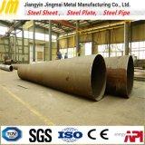 Tubo d'acciaio del cono della saldatura di laser di alta precisione del metallo superiore della fabbrica