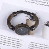El hombre nuevo estilo Relojes de Pulsera de cuarzo de madera para regalo de Navidad