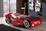 Новая кровать автомобиля малыша конструкции 2017 будет конструкцией для детей в доске MDF E1 и цветастой картине (красный цвет деталя No#CB-1152)