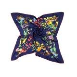 Metallischen Silk Schal der Farben-3D für Laday kennzeichnen