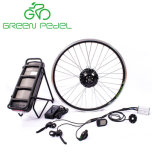 Greenpedel resistente al agua 36V 350W Kit de motor de bicicleta con pantalla LCD
