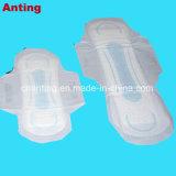 Высшее качество леди хорошей впитывающей способности используемой санитарных Napkin для изготовителей оборудования на заводе