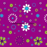 100%Polyester кратко ходы Pigment&Disperse напечатали ткань для комплекта постельных принадлежностей