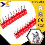 2/3/4 флейта карбида вольфрама конечных продуктов для алюминиевых деталей режущего аппарата