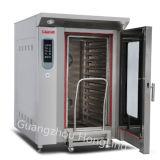 12 comercial de la bandeja de horno de convección a gas para la cocción y utensilios de cocina