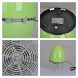 무지개 LED 가벼운 휴대용 공기 정화기 가습기
