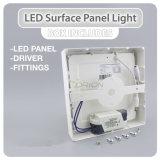 3W classico, 6W, 9W, 12W, 15W, indicatore luminoso di comitato quadrato di 18W LED