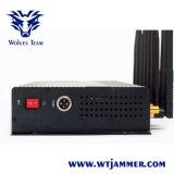 8 leistungsfähiger 3G/4G WiFi Leistungs-Mobiltelefon-Hemmer (mit beweglichem Aluminiumkasten)