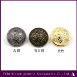 方法衣服のアクセサリの衣類のために縫う円形の金属ボタン