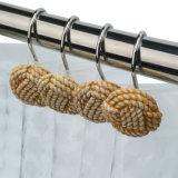 Ami decorativi dell'acquazzone della resina della corda tessuti colore giallo 12 pacchetti