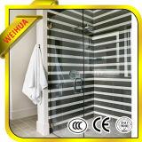 ToughtenedのCe/CCC/ISO9001の浴室ガラスのための明確な緩和されたガラスのオフィスの壁