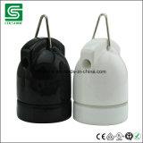 Support s'arrêtant en céramique coté de lampe de la CE de Colshine SAA pour la lumière de pendant de cru