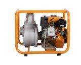 Gp30D-168F-1 Motor de gasolina 4 tiempos de 3 pulgadas de la bomba de agua amarilla