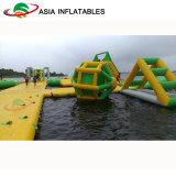 膨脹可能な浮遊水公園、浜の海水のための水公園のおもちゃ