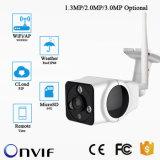 3MP 360度IP WiFiの機密保護の防水屋外の弾丸のカメラ
