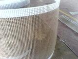 Nastro trasportatore rivestito di teflon a temperatura elevata della maglia della vetroresina di formato su ordinazione PTFE