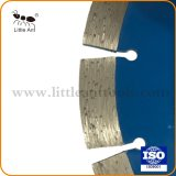 Ferramenta de diamante sinterizada lâminas de serra de mármore e granito/Quartzito/Rocha/Corte de concreto