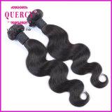 Quercyの一等級のペルーの人間の毛髪ボディ織り方の毛のよこ糸(BW-065B)