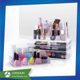 Magasin de cosmétiques Présentoir acrylique rouge à lèvres, maquillage Boîte d'affichage de publicité
