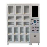 17 de almohadilla sanitaria de las células y dispensador de máquina expendedora de pañales para adultos