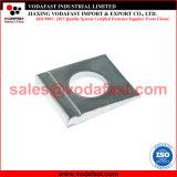La norme DIN 435 Wedge-Shaped rondelle carrée en acier galvanisé pour I Section