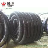 Pipe ondulée à mur unique de HDPE pour la protection de câble/fil