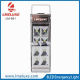 linterna recargable portable de 8PCS SMD LED