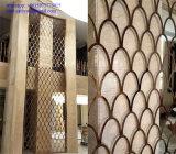 Панель нержавеющей стали золота произведения искысства металла декоративная сделанная в Китае