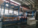 Sistema automático del procesamiento por lotes por lotes, de la mezcla y de la transportación