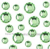 AchterBergkristal van de Edelstenen van de Schoonheid van de spijker het Semi vlak (FB -fB-peridot)