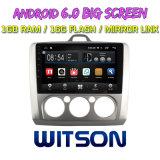 """Grand écran 9"""" Witson Android 6.0 DVD de voiture pour Ford Focus 2009"""
