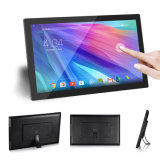 Monté sur un mur de 21,5 pouces tout-en-un à quatre cœurs Android Tablet PC avec RJ45