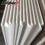 Bestop personalizados de alta qualidade de resina epóxi de quartzo branca Carrara Bancada de cozinha