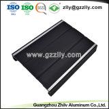 Profil en aluminium extrudé de haute qualité pour dissipateur thermique du dissipateur de chaleur du radiateur d'équipement audio de voiture
