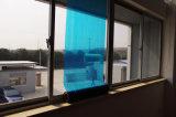 Blauer schützender Film für Fenster-Glas