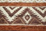 De bruine Stof van de Stoffering Chenille voor het Midden-Oosten met Deklaag (FTH31004A)
