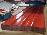 Colorare le lamiere ricoperte colore ondulate zinco rivestito del tetto del metallo