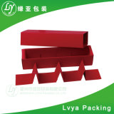 Braunes Packpapierbrown-Karton-Nahrungsmittelkasten-leerer Fach-Kasten