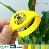 Bracelet classique spécial d'hôtel de silicones de l'IDENTIFICATION RF 1K d'à haute fréquence MIFARE d'offre