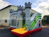 Inflables super héroe Mario Castle House/utilizan Casa hinchables