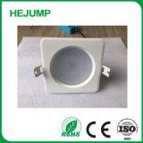 7W regulable Impermeable IP65 de Material de fundición Downlight LED plana