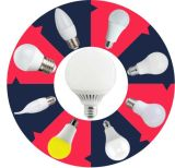 LED Birne Keramik A55 2835SMD 4W 323lm AC220 ~ 240V