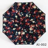 Paraguas al aire libre recto del nuevo del diseño de la manera del color de la lluvia mini paraguas de la insignia para la promoción