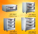 Machine de cuisson commercial simple pont Four à pain électrique avec la CE