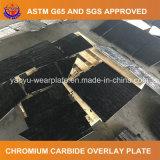 Placa de acero del desgaste del compuesto del carburo del cromo