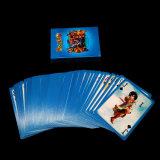 Impresa personalizada 280gsm azul chino Core cartas de póquer